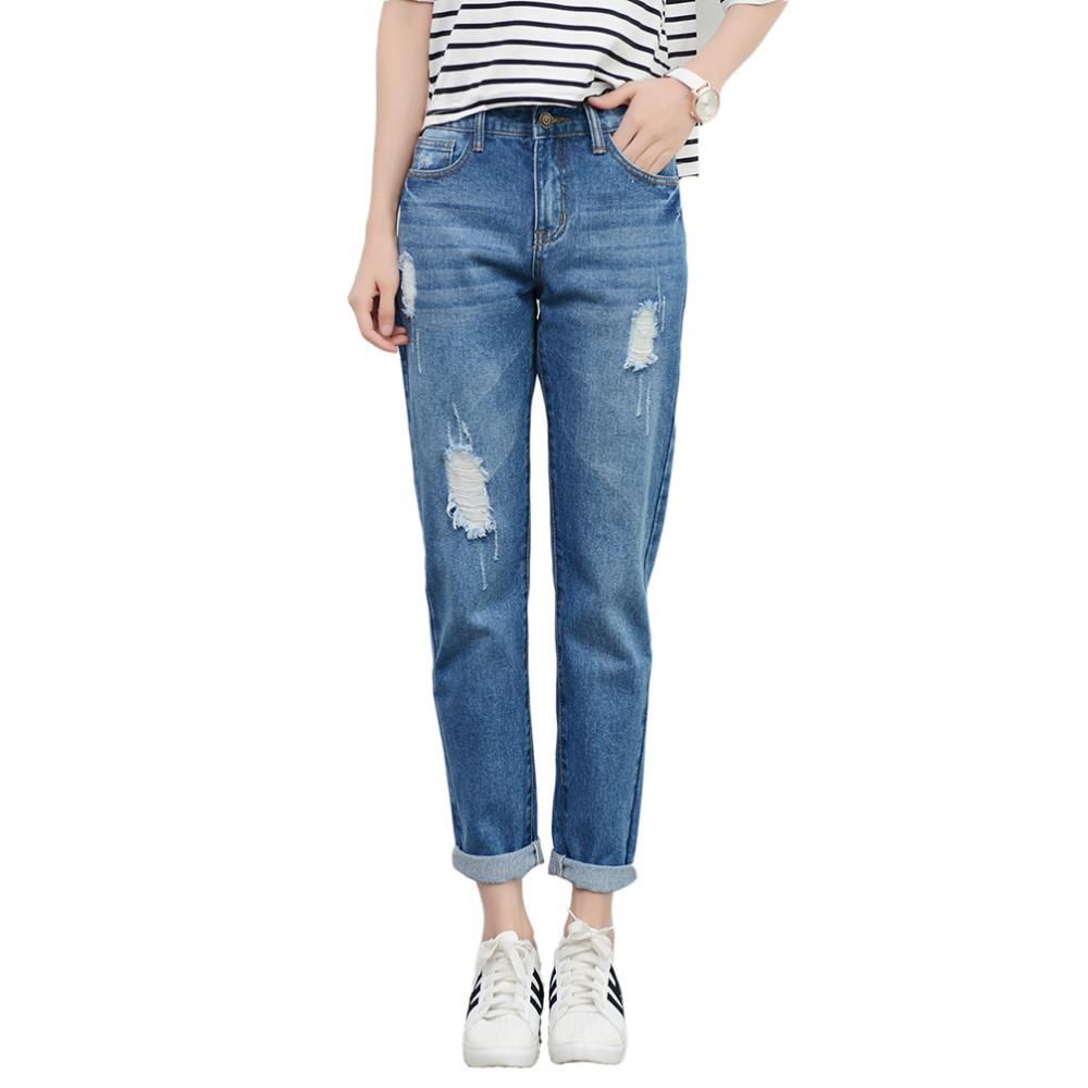 tengo new fashion women high waist jeans boyfriend brand. Black Bedroom Furniture Sets. Home Design Ideas